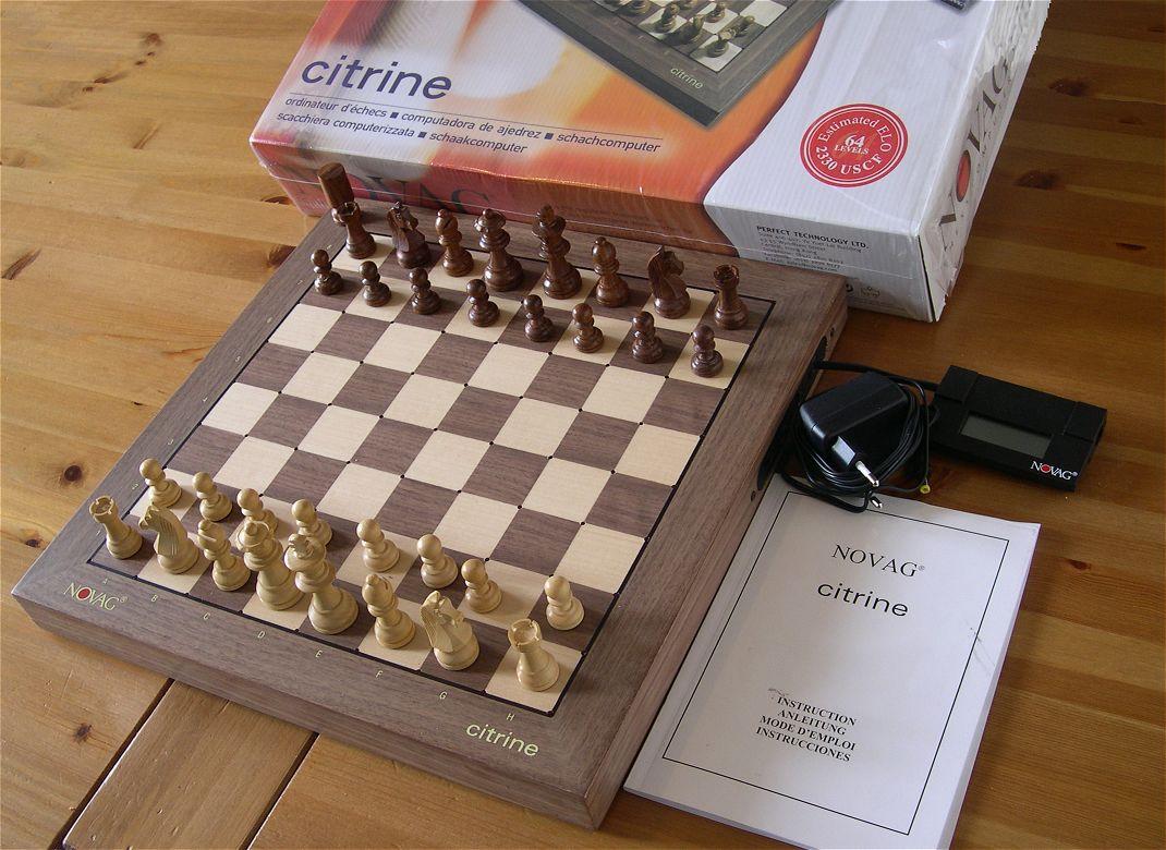 Novag chess computers.