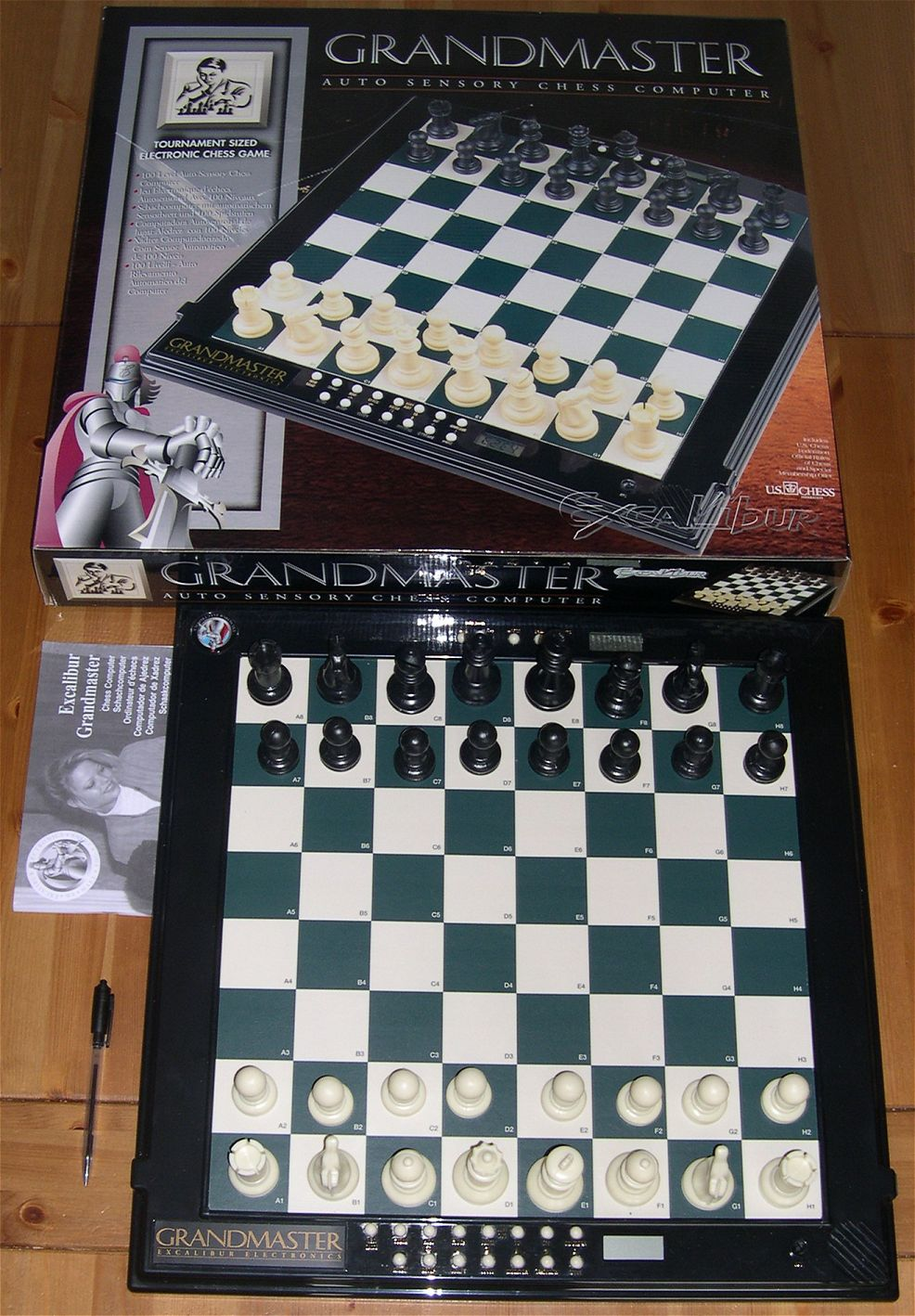 my chess computers rh electronicchess free fr Chess Pattern Best Computer Chess Sets