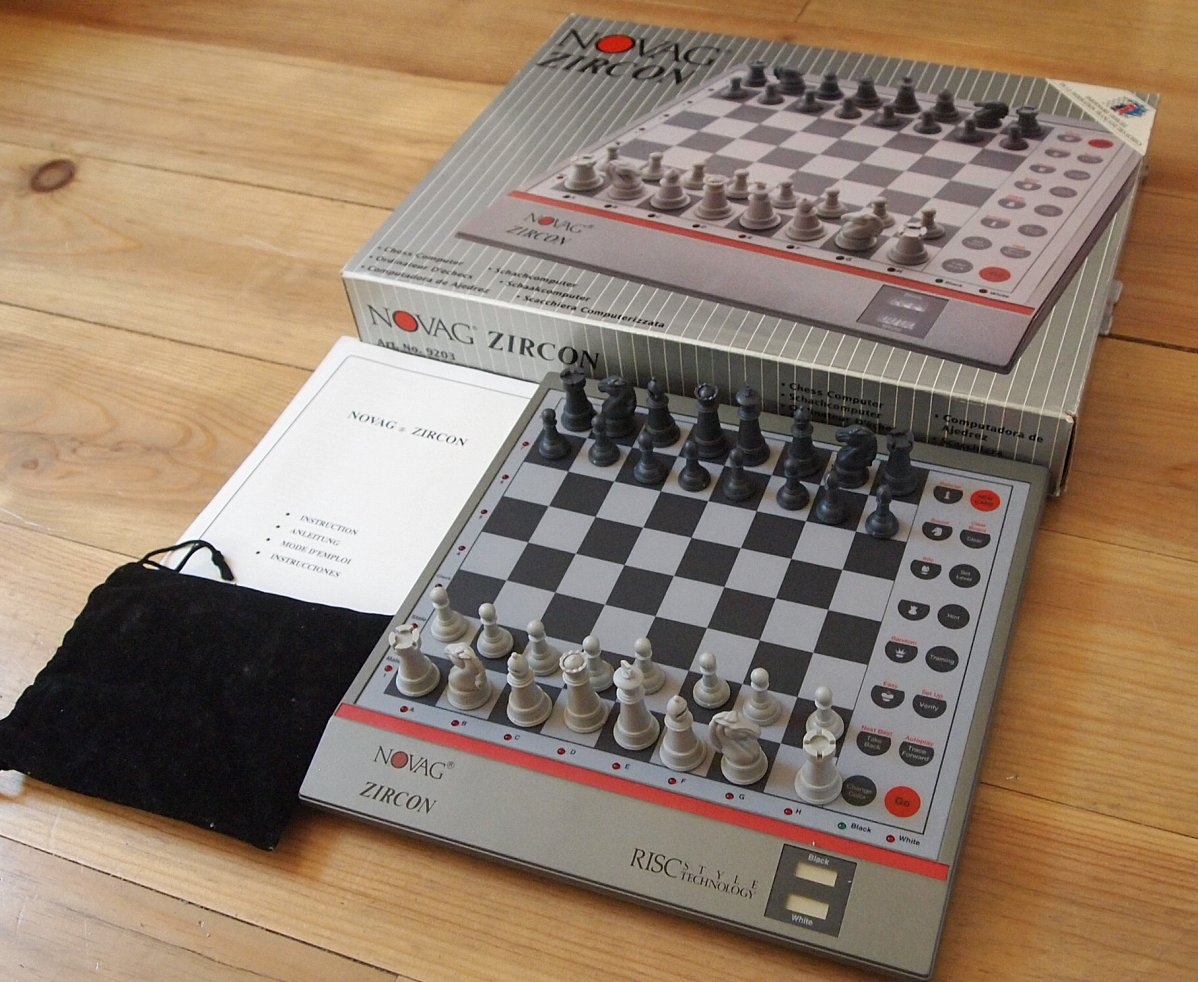 My chess computers.